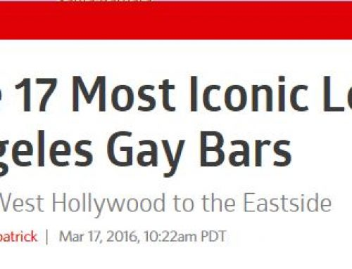 Faultline Name One of The 17 Most Iconic Gay Bars in LA