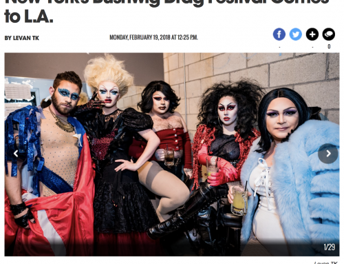 LA WEEKLY: New York's Bushwig Drag Festival Comes to L.A.
