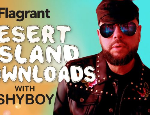 'DESERT ISLAND DOWNLOADS' WITH SINGER, SONGWRITER, SUPERSTAR DJ SHYBOY